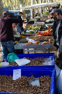 Girona farmers market