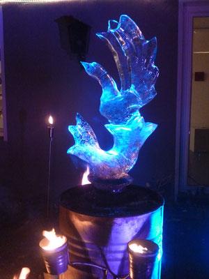 Feuer und Eis- mit Johannes Luehrs, KunstDOmäne