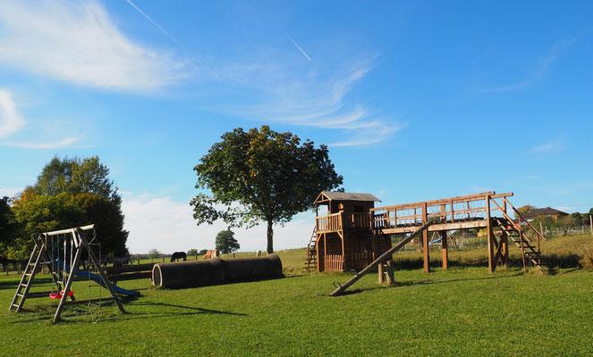 Spielplatz Bauernhofurlaub RLP