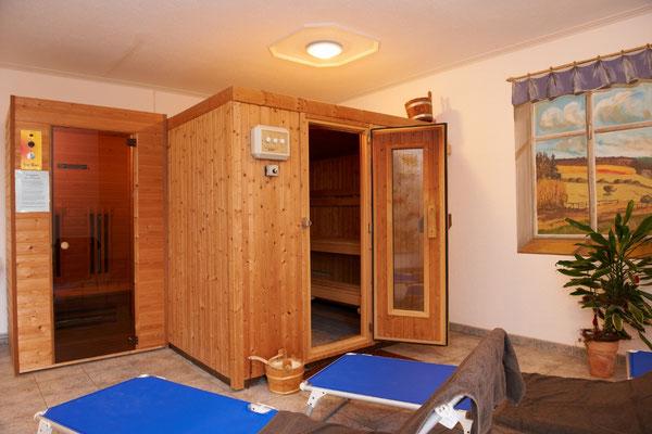 Sauna Wellnes auf dem Bauernhof Eifel