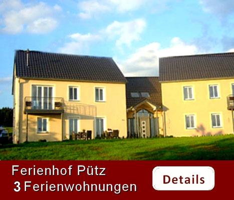 Pütz Ferienwohnungen Bauernhof Eifel