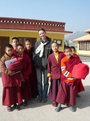 sundarijal gompa, nepal