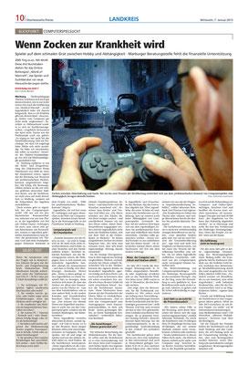 Oberhessische Presse - Allgemeiner Überblick über das Projekt