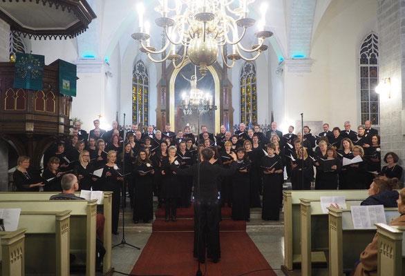 Konzert in Tallinn, gemeinsam mit dem Estonia Seltsi Segakoor