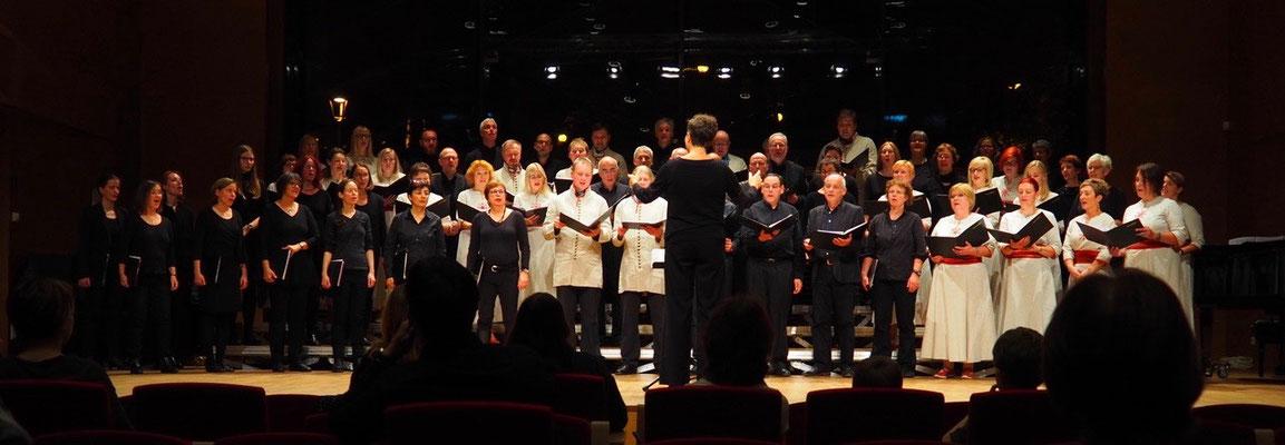 Konzert in Tartu, gemeinsam mit dem Kammerchor A.le Coq