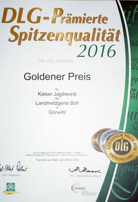 Kaiser Jagdwurst
