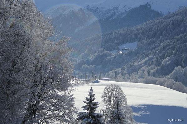 9704 sunniberbbrücke im winter