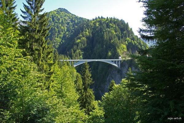 8020 salginatobelbrücke (weltkulturerbe)