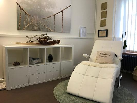Behandlungsraum Nicole Baumgartner, Hypnosecenter Frauenfeld - Thurgau - Schweiz