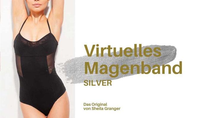 Virtuelles Magenband SILVER, Magenband-Hypnose, hypnotisches Magenband, imaginäres Magenband