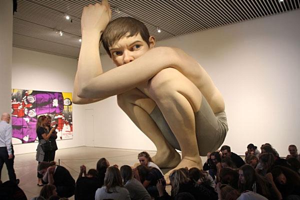 So kam es auch zum Besuch des Museums in Aarhus. Moderne Kunst (auch wenn wir uns mehr für die Aussicht auf dem Dach interessierten).