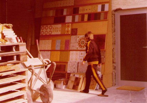 Firmengelände ca. 1974