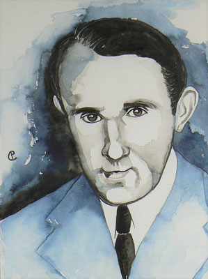 004 - Bruno Schulz - Watercolour - 30 x 40 cm