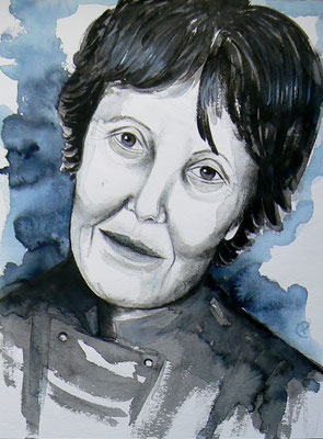 002 Christine D'haen - watercolour - 30 x 40 cm