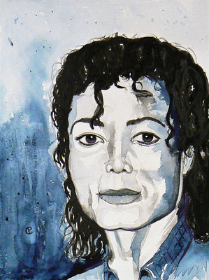 018 - Michael Jackson - 30 x 40 cm