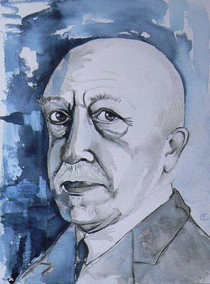 012 - Cyriel Buysse - Watercolour - 30 x 40 cm