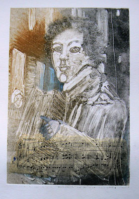 024 - Monotype & Collage - 24,5 x 17 cm