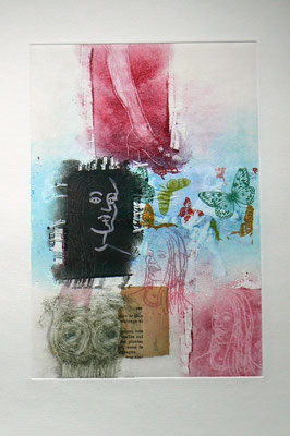 014 - Monotype & Collage - 24,5 x 17 cm