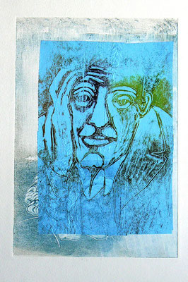 040 - Monotype & Collage - 24,5 x 17 cm