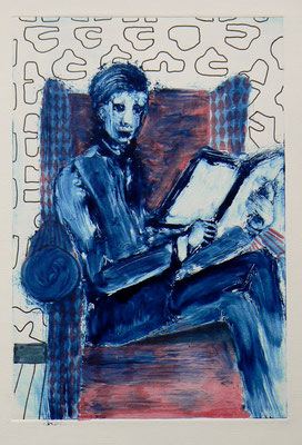007 Monotype and watercolour - Untitled - 24,5 x 17 cm
