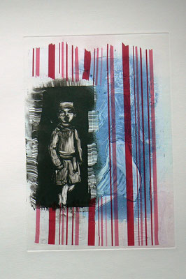 016 - Monotype & Collage - 24,5 x 17 cm