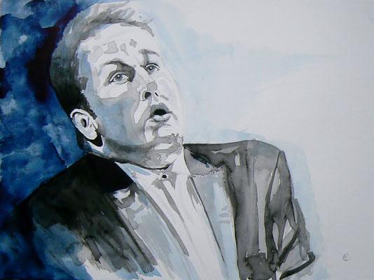 006 Lukáš Vondráček - watercolour - 30 x 40 cm