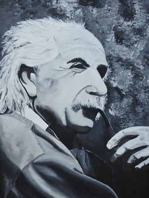 Einstein/ Grösse: 800x600mm/ Preis: CHF 1500.00