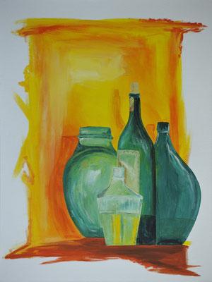 Bottles/ Grösse: 800x600mm/ Preis: CHF  850.00