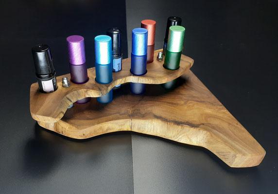 Nr. 14 Touch Roller Halterung mit 8 Lochbohrungen für 10 ml Flaschen, grösse ca. 25 x 20 Fr. 80.00