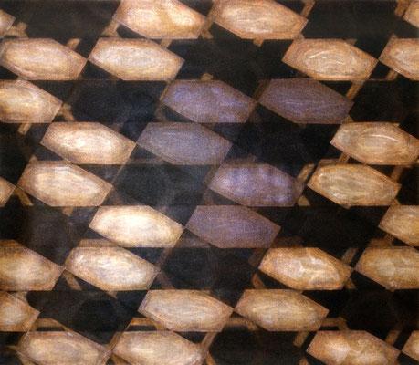Les huîtres, 1984, acrylique sur toile, 180 x 160 cm