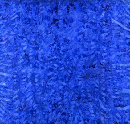 0° en altitude, 1983, acrylique sur toile, 200 200 cm