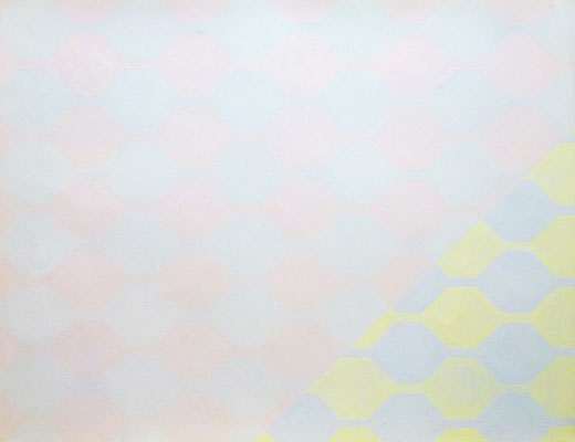 R6, 1983, gouache sur papier, 65 x 50 cm
