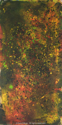 Big Bang Triptych 2/3 B262 75x150cm ©2013 Eva Dillner