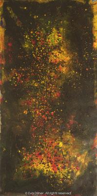 Big Bang Triptych 1/3 B261 75x150cm ©2013 Eva Dillner