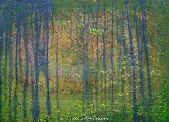 Rainforest Urskog C317 70x50cm ©2010 Eva Dillner. Private Collection Germany