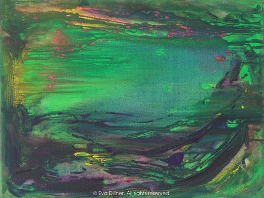 Evig sommar C347 40x30cm ©2014 Eva Dillner. Private collection Georgia.