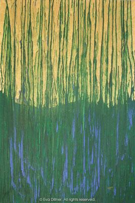 Guld och gröna skogar A195 97x145cm ©2012 Eva Dillner