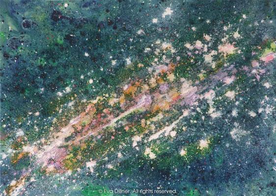 Milky Way, Vintergatan C360 70x50cm ©2014 Eva Dillner