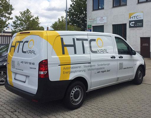 HTC Kral ist nicht zu übersehen