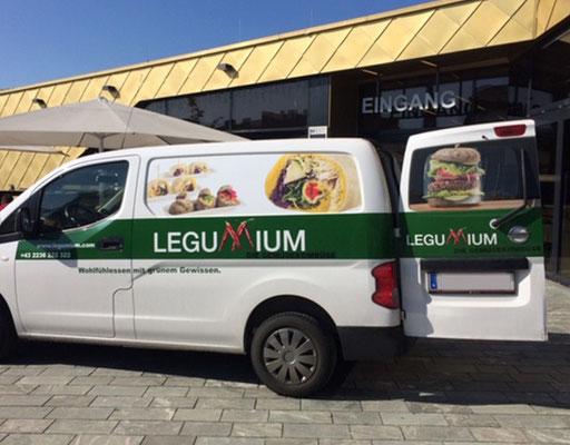 Legumium, die Gemüsekombüse - so wird das köstliche vegane Essen ausgeliefert