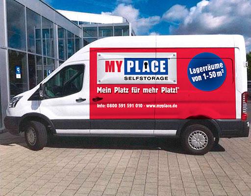 MyPlace-Partner im Bereich Umzug und Transport