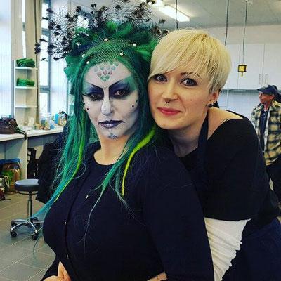 Maske-Zwischenprüfung mit Laura Eckenigk 2016 Foto: privat