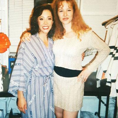 Broadway, NY mit Tia Riebling 1996 Foto: privat
