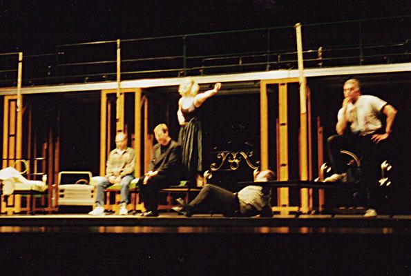 """Proben zu """"Evita"""" an der Oper Dortmund 1999 Foto: privat"""