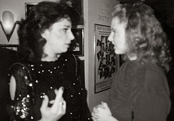 1986 mit Gillian Scalici - Foto: privat