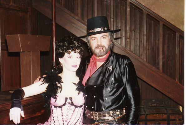 """""""Prairie Saloon"""" 1989 mit Claus Wilcke Foto: Privat"""