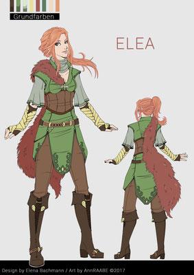 Charakterdesign Elea (by Stiftgemacht)
