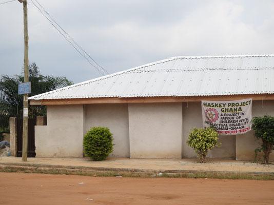 Day Care-Gebäude Straßensicht