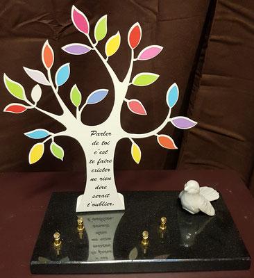 plaque arbre de vie