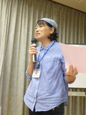 社会福祉協議会 大野木さんによる百歳体操解説